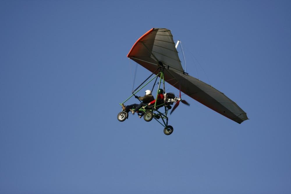 Обучение полетам на дельталете