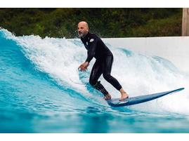 Серфинг на искусственной волне