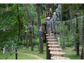 веревочный парк москва