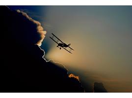 Обучение пилотированию самолета.