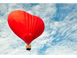Романтический полет на воздушном шаре мск
