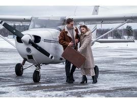 свидание в самолете мск