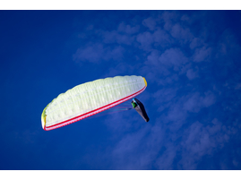 акробатический полет на параплане